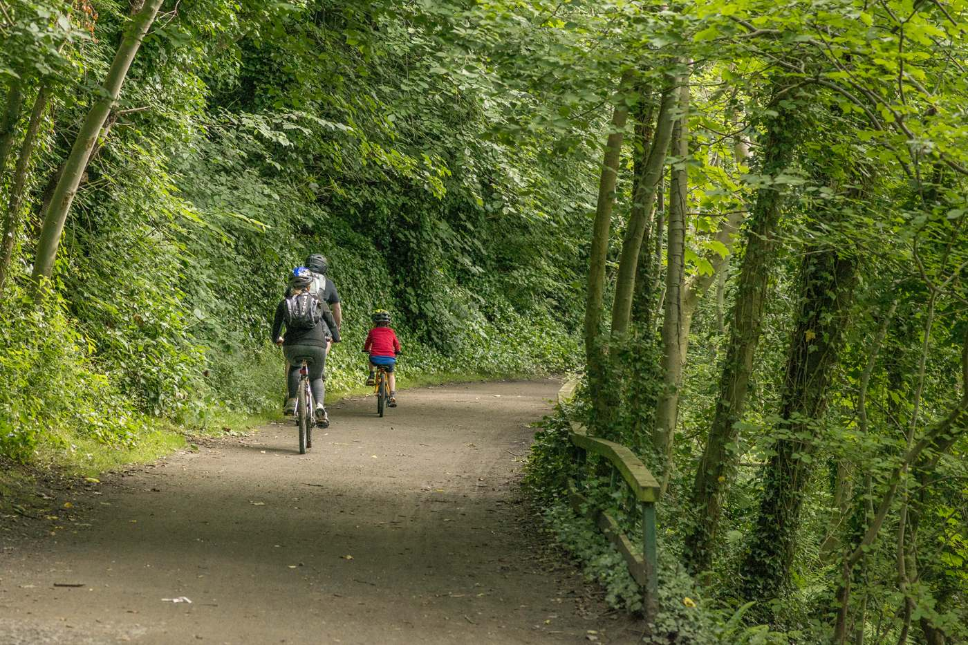 The Scottish National Trail is close to the new hub