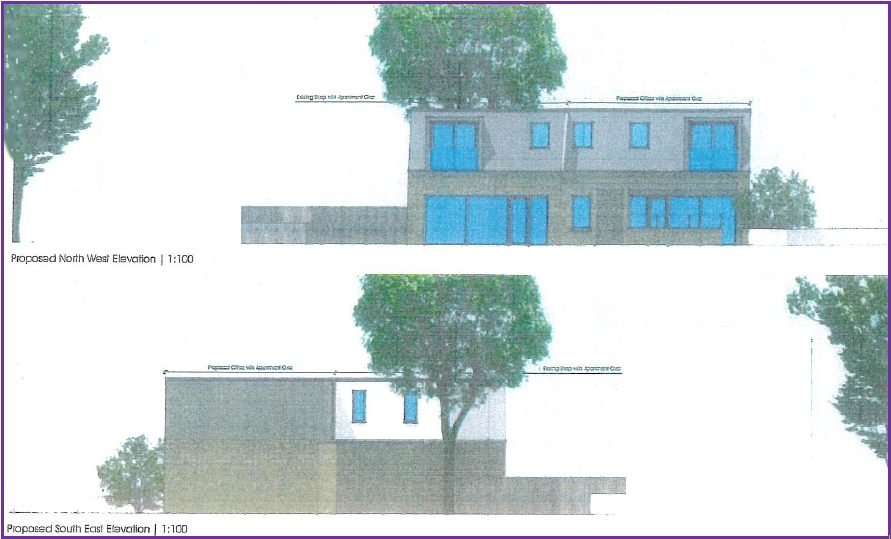 Drawings of The Proposed New Community Hub